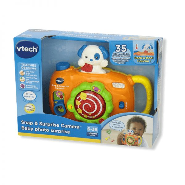 vtech snap and surprise camera