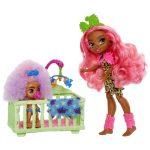 Cave Club Wild About Babysitting Playset and Fernessa and Furrah Dolls_Picture 1