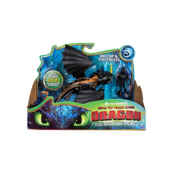 Dragon and Viking Figure - Hiccup and Toothless_Picture 1