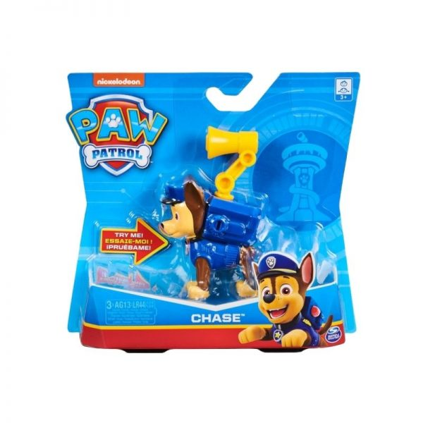 Paw Patrol Action Pack Pup Character with Sounds - Chase_Picture 1
