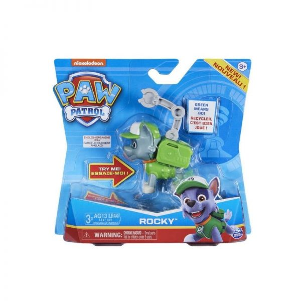 Paw Patrol Action Pack Pup Character with Sounds - Rocky_Picture 1