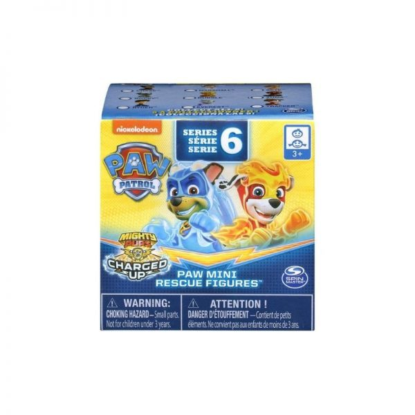 Paw Patrol Mighty Pups Charged Up Series 6 Mini Figures Mystery Pack_Picture 1